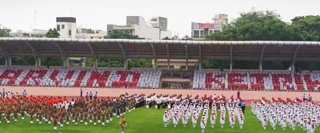 Delhi Govt I-Day Celebrations Have Kejriwal as Pattern