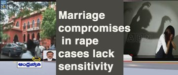 SC Says No to Compromise in Rape Cases
