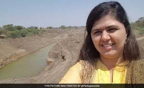 Pankaja Munde: A selfie too many