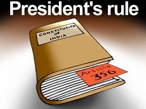 President's Rule, Judiciary and the Congress Party