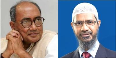 Digvijay Singh Issues 'Clean Chit' to Zakir Naik