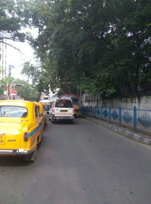 Road Safety: No Fine for Police Vehicles?