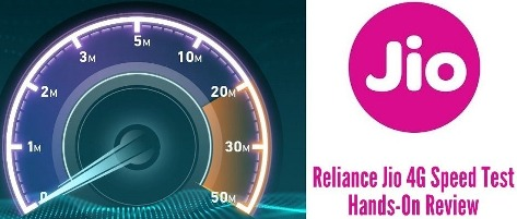 Jio and 4G Speed: Testing Time