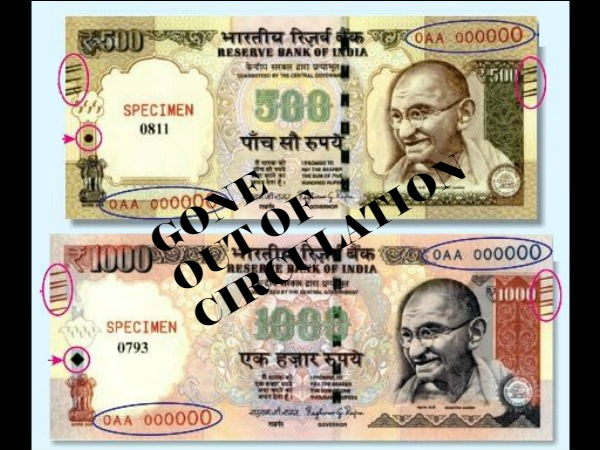 Gone: Rs 500 & Rs 1000 Currency Notes - A Strong Move Against Corruption and Black Money