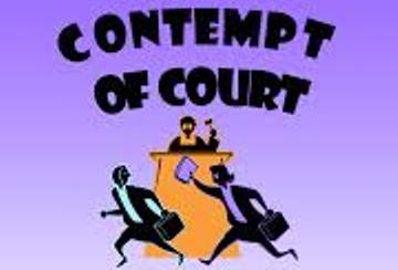 Refusing to Answer Questions is Not Contempt of Court