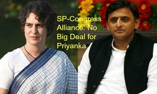 Priyanka Gandhi: Nothing to Exult About