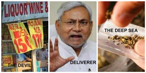 Bihar Moves From the Devil (Liquor) to the Deep Sea (Drugs)