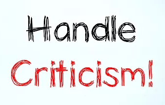 Criticism Should Lead to Course Correction, Not Brazenness