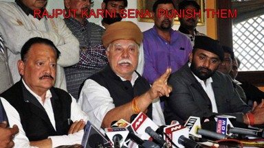 Make Karni Sena Pay For Loss to Public and Private Property