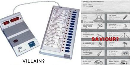 evm versus ballot