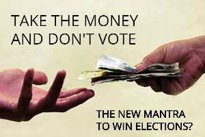 New Mantra: Bribing Voters For Not Voting
