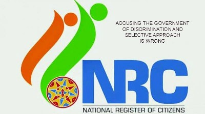 NRC: Wrong To Accuse Government of Discrimination