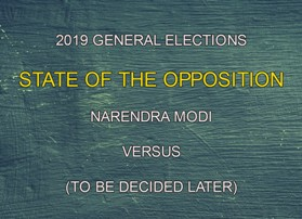 Will The United Front Without A Face Win Against Modi?
