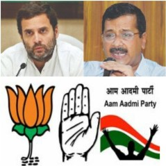 Rahul's Spurning Of Kejriwal Likely To Hand All 7 Delhi Seats Back To The BJP