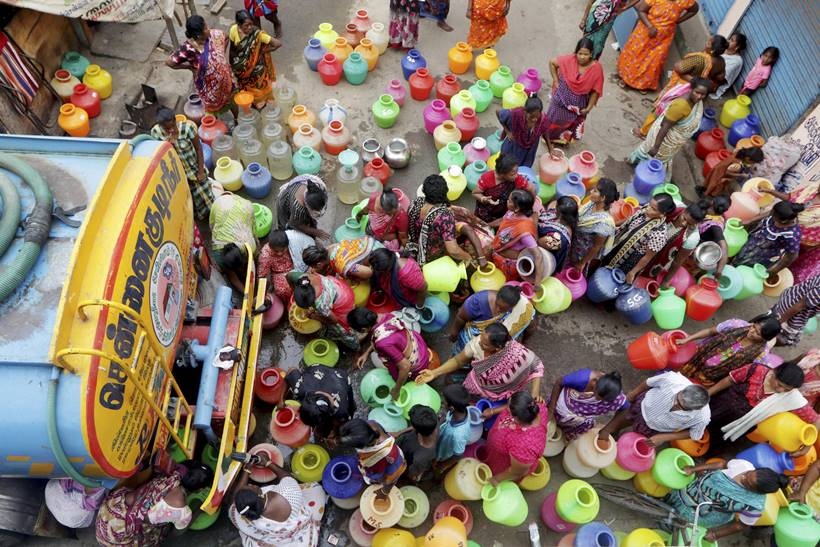 Chennai Goes Dry, Government In Denial