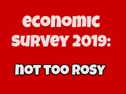 Economic Survey 2019: Acche Din Will Have To Wait
