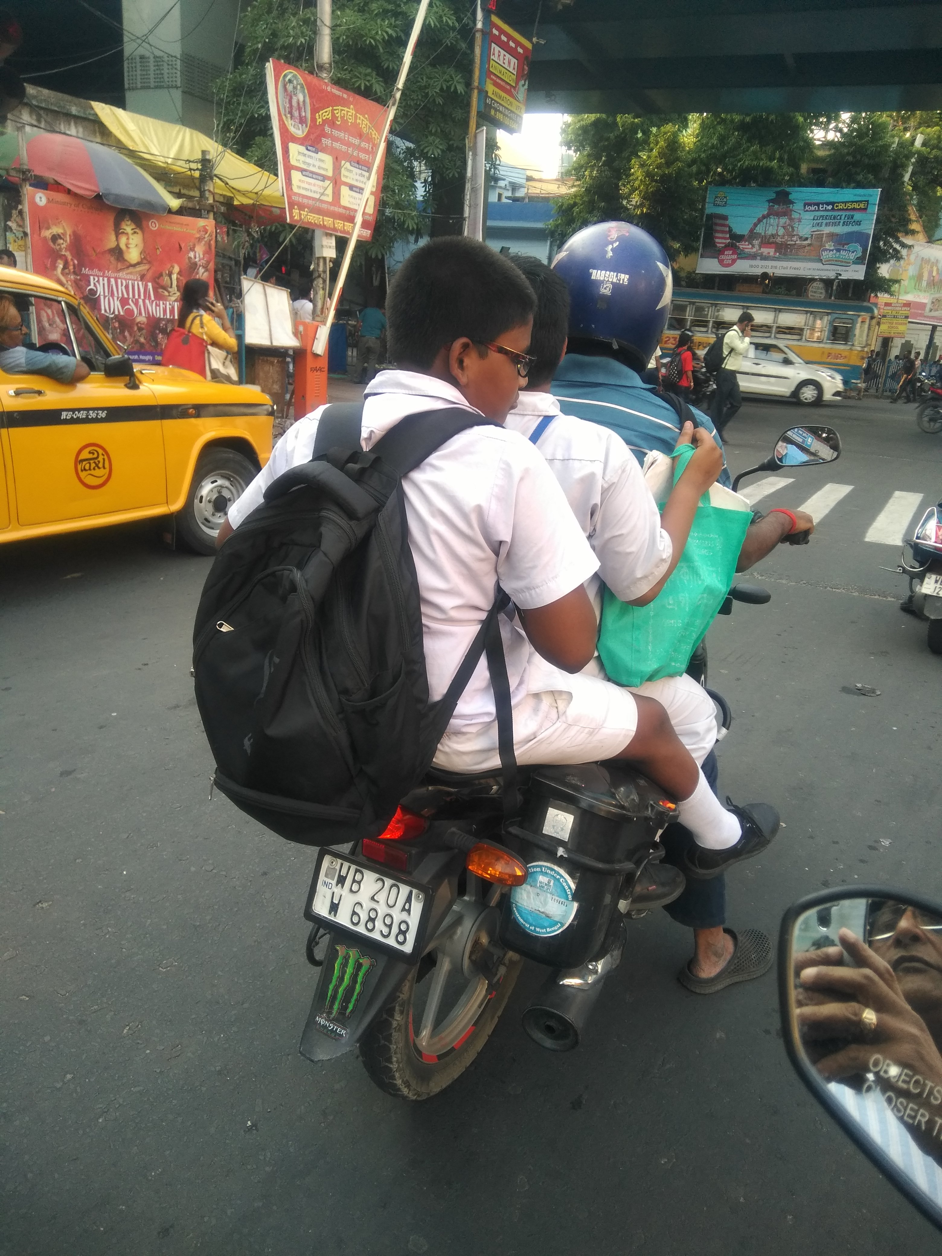 Riding Without Helmets Is Risky And Punishable