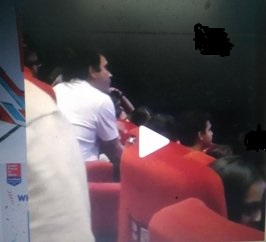 Rahul Gandhi@@@s Day Out At The Movies