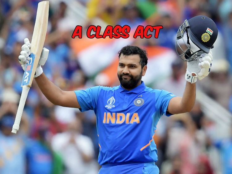Rohit Sharma: In Sublime Form