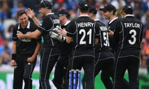 Manchester Bleeds Black As Kiwis Stun India