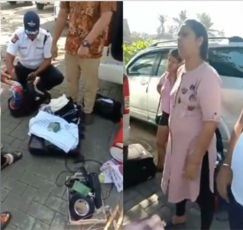 Indian Family Caught Stealing From Hotel In Bali