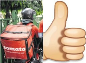 A Big Thumbs Up To Zomato