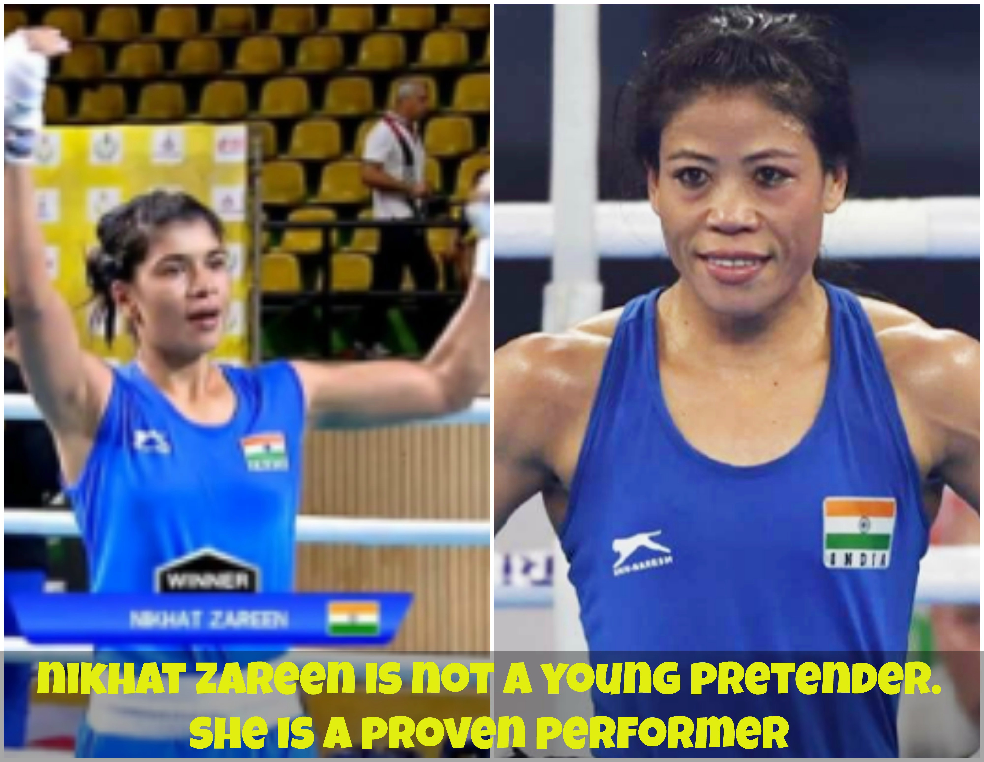 Due Process Avoided, Mary Kom@@@s Selection Unfair To Nikhat Zareen