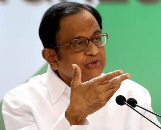 Chidambaram Is As Confused As His Party On J&K