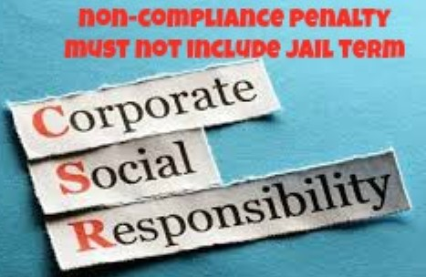 Drop Jail Term As Penalty For Non-Compliance With CSR Norms
