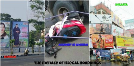 Chennai: Illegal Hoarding Claims A Young Life