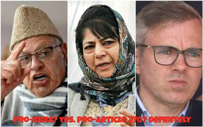 J&K: How Could The Decisions In 1947-1956 Be Right And Those In 2019 Be Wrong?