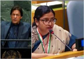 UNGA: India Exposes Imran Khan@@@s Brinkmanship