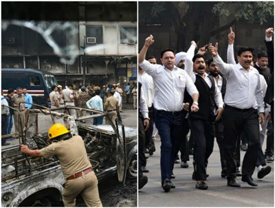 Shameful And Deplorable Clash Between Lawyers and Police in Delhi