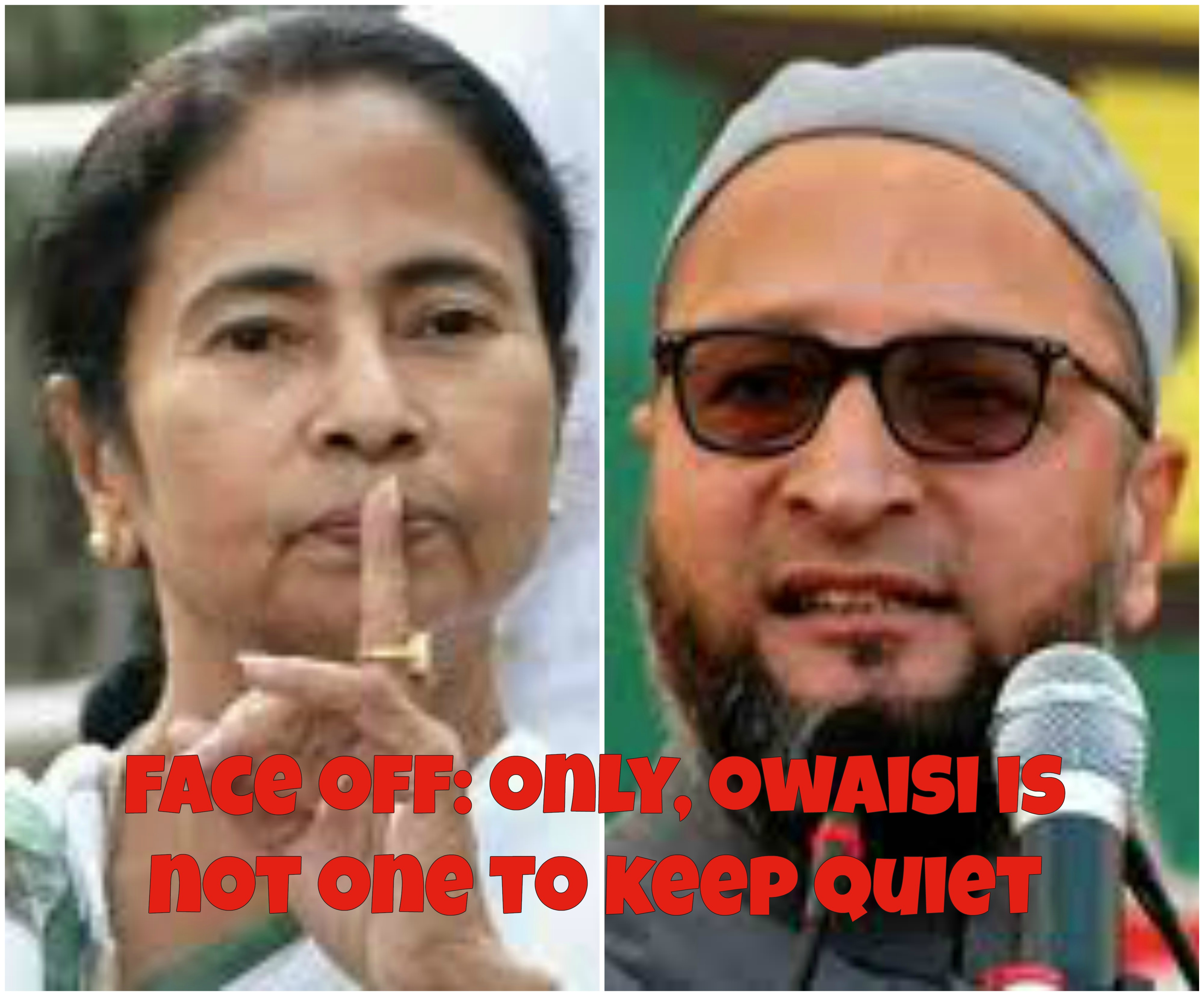 Owaisi Goes After Mamata Banerjee For Accusing Him Of ###Minority Extremism###