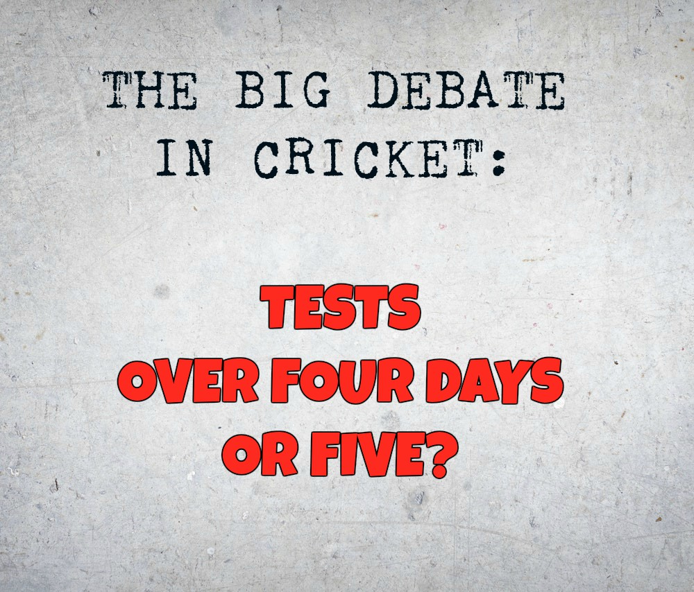 Having Four-Day Tests Might Backfire If Matches Do Not Produce Results