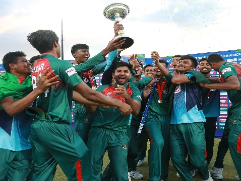 Bangladesh Beat An Off-Colour India To Lift Under-19 World Cup