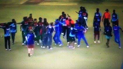 Brawls Have No Place On A Cricket Field