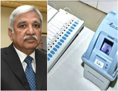 No Question Of Junking The EVMs, Says CEC Sunil Arora