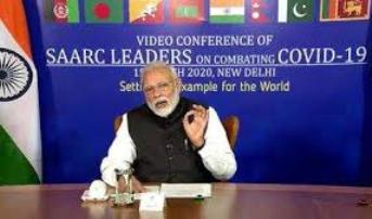 Saarc Video Conference On Covid-19: Pakistan Tries To Raise Kashmir, Snubbed