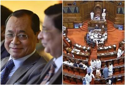 Controversy Over Retired CJI Ranjan Gogoi@@@s Rajya Sabha Nomination