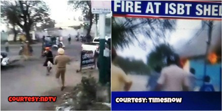 Violence In Punjab By Lockdown Violators