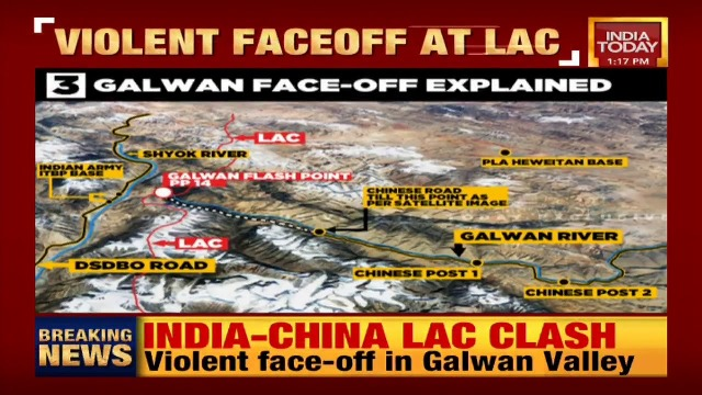 Indian And Chinese Troops Engage In Hand-To-Hand Combat At Galwan Valley, Casualties Reported On Both Sides