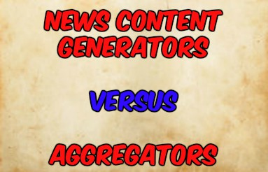 News Content Generators Must Be Paid By Aggregators Like Google And Facebook