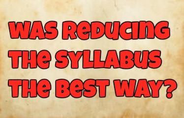 Reducing Syllabus Is Bureaucratic Thinking