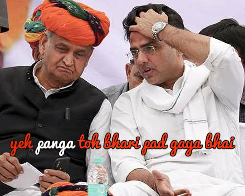Gehlot Gives Congress An Upper Hand In Rajasthan, Pilot Looking For Damage Control