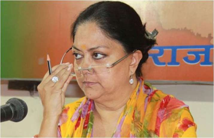 BJP Errs By Keeping Vasundhara Raje Out In L@@@Affaire Sachin Pilot