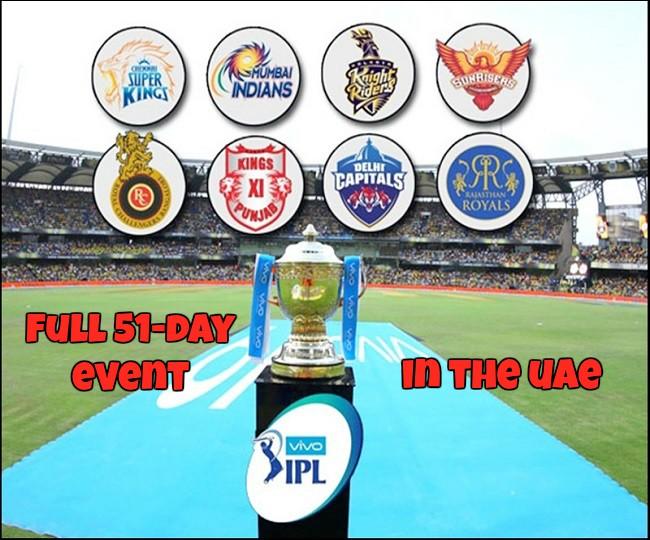 Full 51-Day IPL In The UAE From September 19