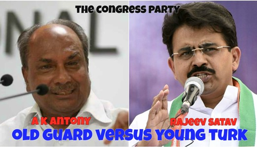 Rahul Gandhi@@@s Aide Rajeev Satav Takes On The Old Guard In The Congress