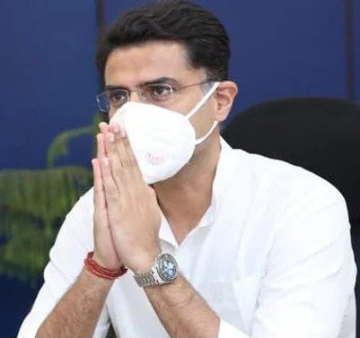 Sachin Pilot Is Not A Novice To Fall On His Knees In Such An Abject Manner