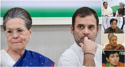 CWC Meeting: The Gandhis And Their Courtiers Rule, Crush @@@Dissent@@@